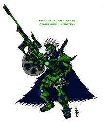Emerald Centarus by Hornyyoshi