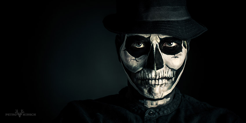 Painting Realistic Faces Realistic Skull Face Paint