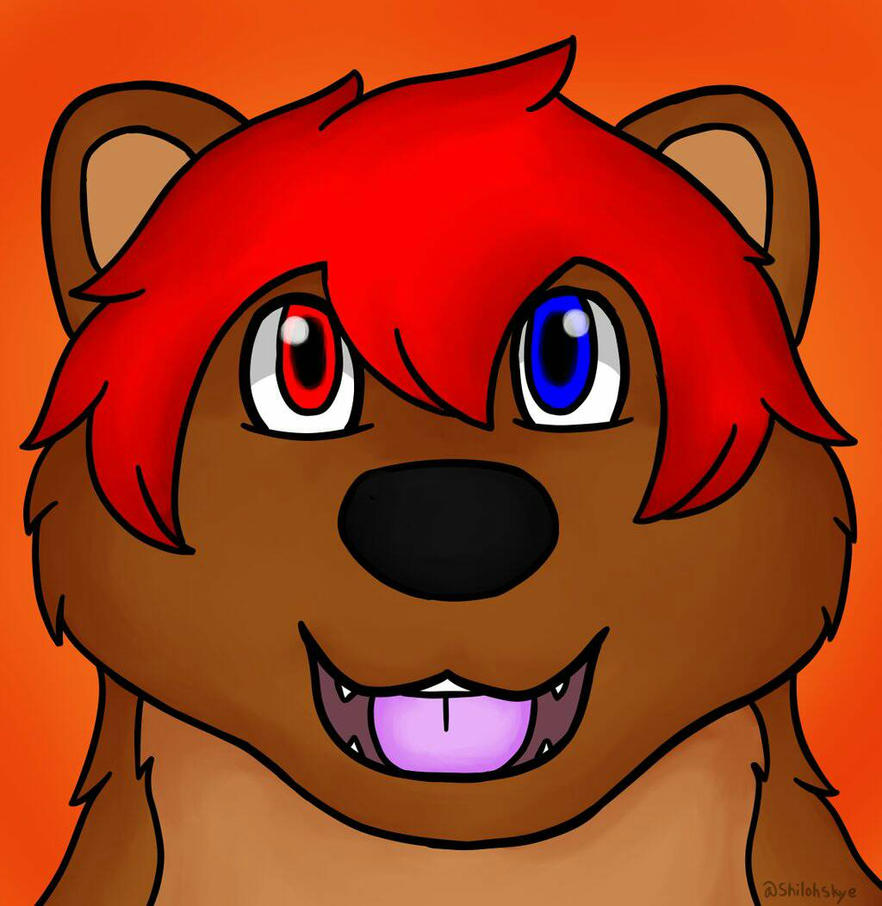 Dan new headshot created by Shiloh Skye by DanGrizzlyBear