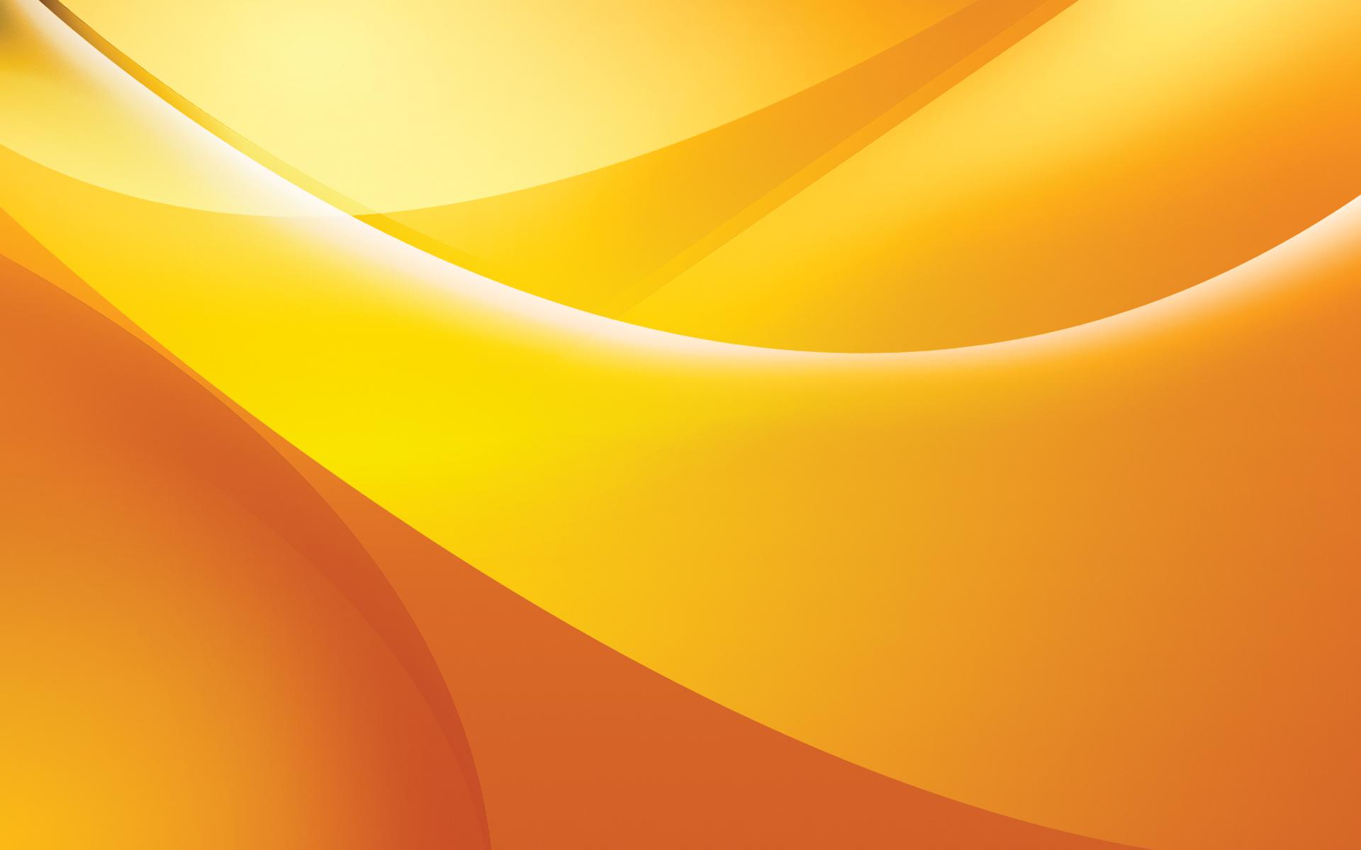 Orange curves wallpaper - 91107