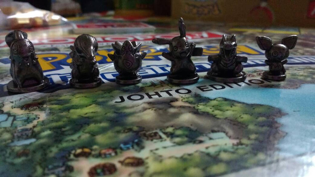 Pokmon Figures from Monopoly by PokoPyon
