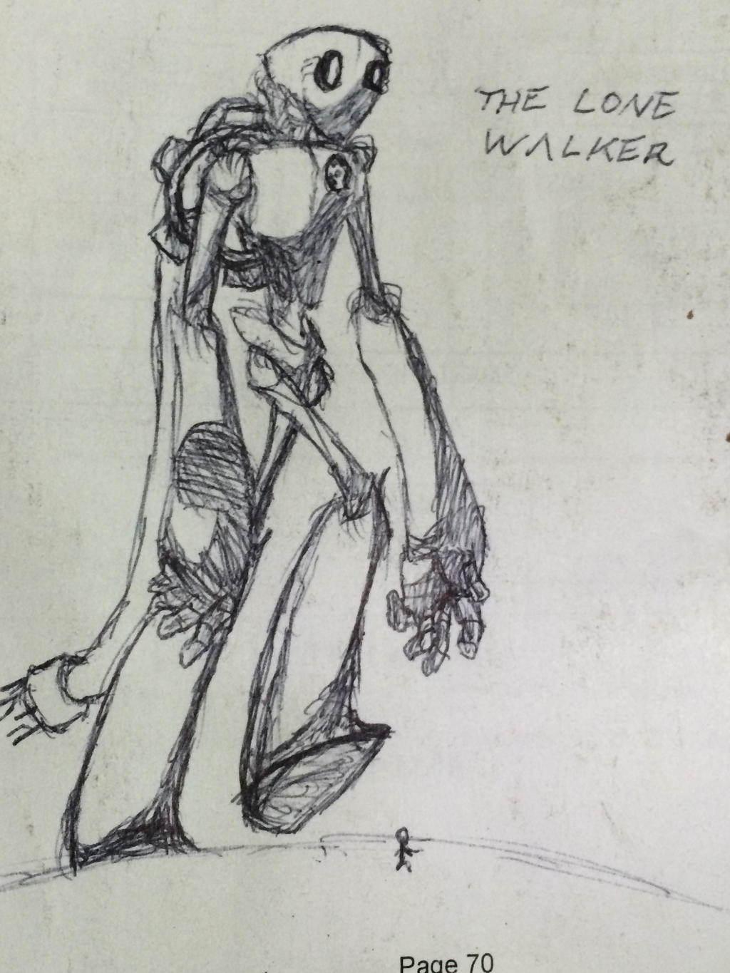 The Lone Walker by MUTANTS-FOREVER