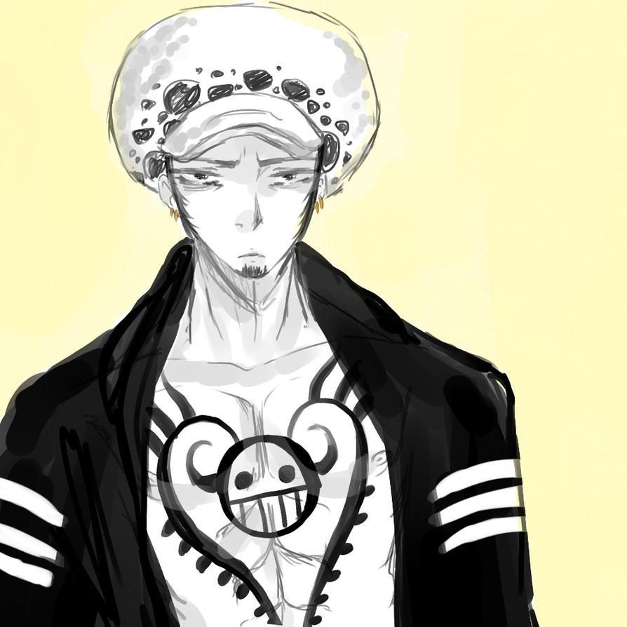 One Piece : Trafalgar Law by NaruSparkles
