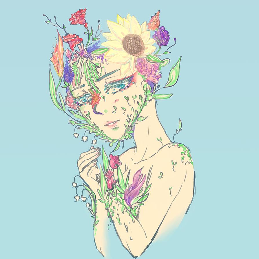Plant Person by NaruSparkles