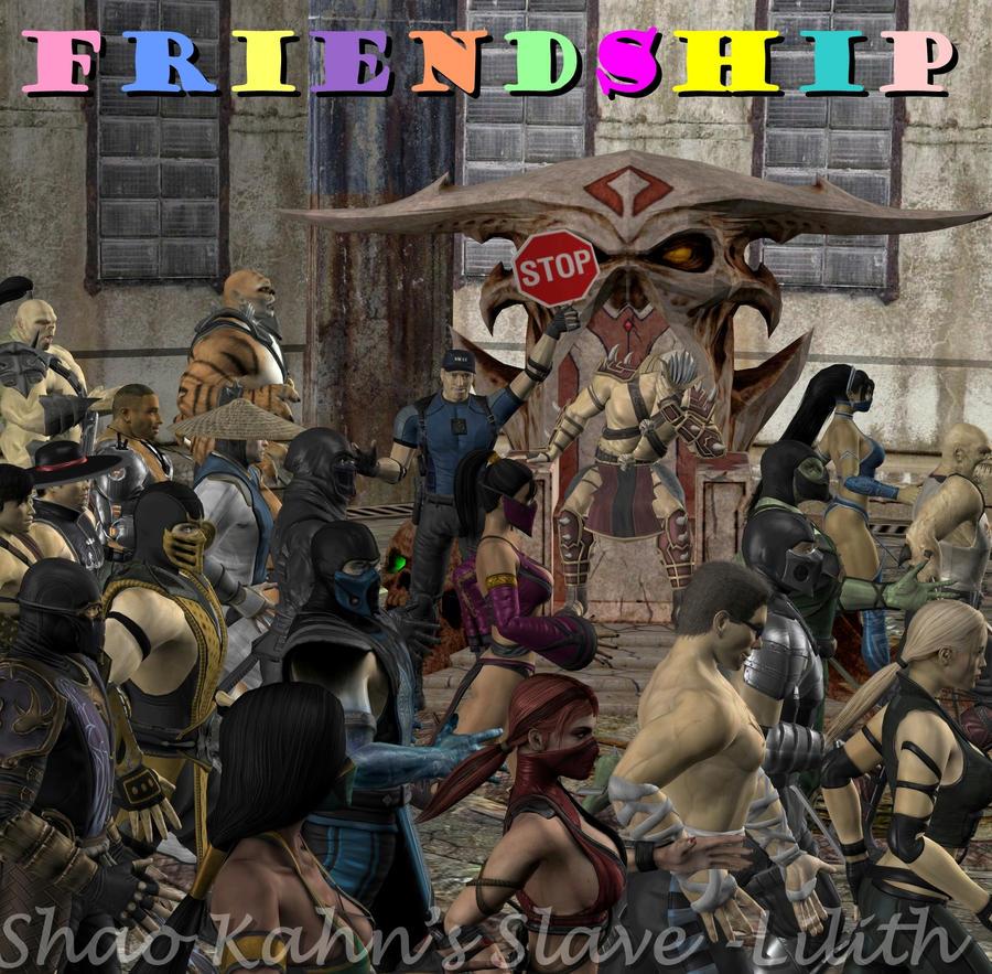 STRYKER FRIENDSHIP! by ShaoKahnsSlaveLilith