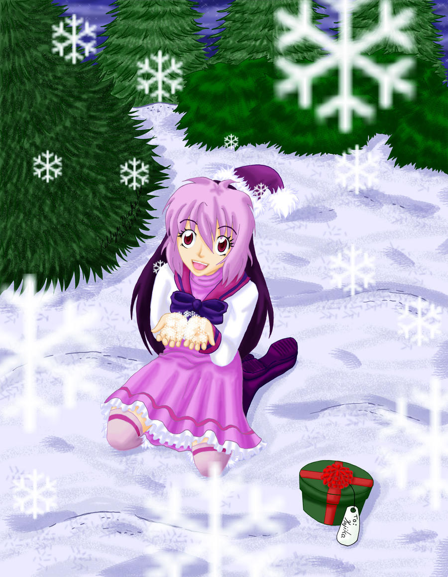 Lily's Christmas--For Kojika by MangaKeri
