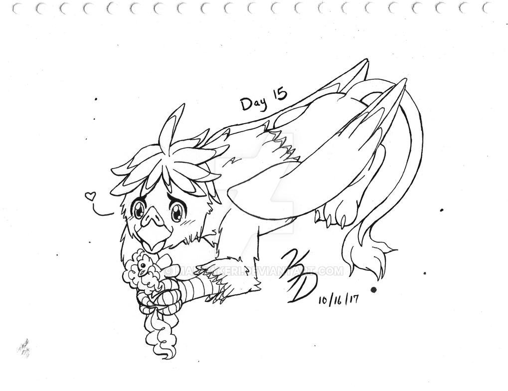 OCInktober 2017 Day 15 - Newest OC by MangaKeri