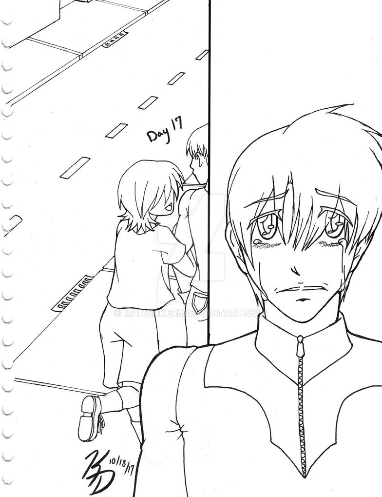 OCInktober 2017 Day 17 - OC with Unrequited Crush by MangaKeri