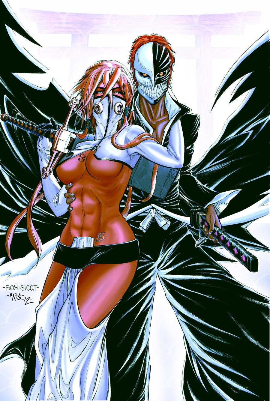 BattleArtist ColorBattle14: Bleach by MikeMarsArt