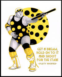 The Dream Dusty Rhodes by MikeMarsArt