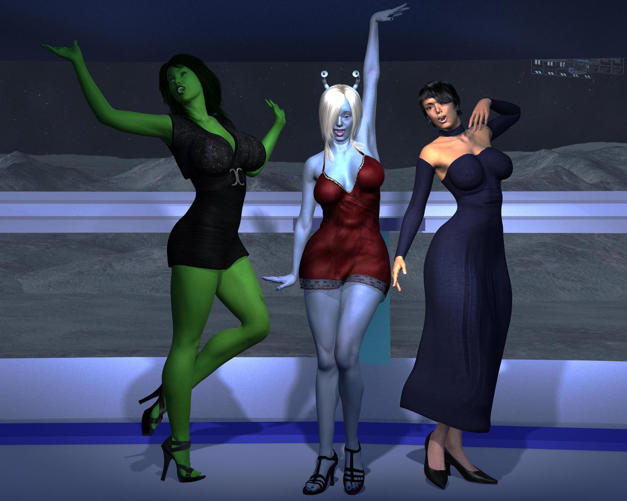 Star Trek Singers by OrionPax09