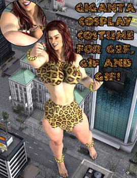 Giganta Cosplay Costume for G2F - G8F