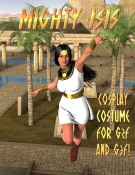 Mighty Isis Cosplay Costume for G2F and G3F