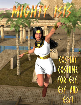 Mighty Isis Cosplay Costume for G2F - G8F