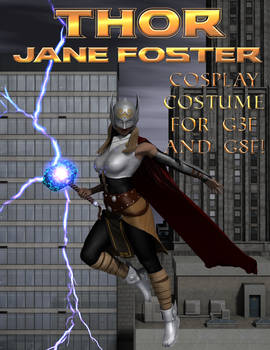 Thor (Jane Foster) Cosplay Costume for G3F and G8F