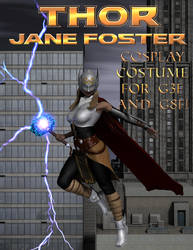 Thor (Jane Foster) Cosplay Costume for G3F and G8F by OrionPax09