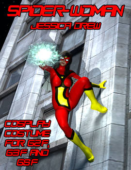 Spider-Woman 1 Cosplay Costume for G2F - G8F