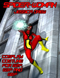 Spider-Woman 1 Cosplay Costume for G2F - G8F by OrionPax09
