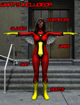 Spider-Woman (Jessica Drew) - What's Included? by OrionPax09