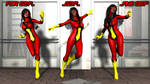 Spider-Woman (Jessica Drew) - Three Generations by OrionPax09