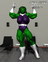 She-Hulk: Now For G8F! by OrionPax09