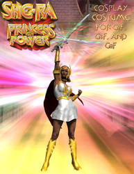 She-Ra Cosplay Costume for G2F - G8F by OrionPax09