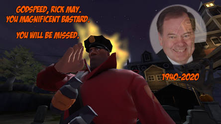 Godspeed, Rick May (1940-2020)