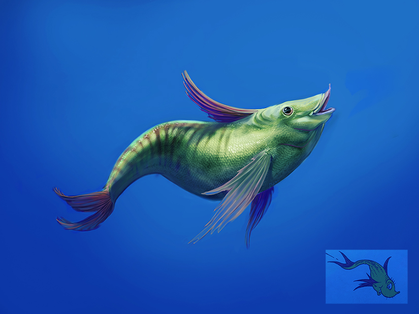 One fish by MackinX