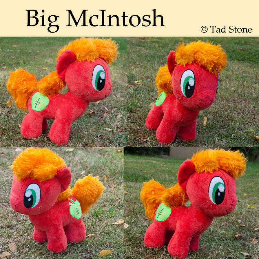 Big McIntosh - Chibi/Colt Plush by TadStone
