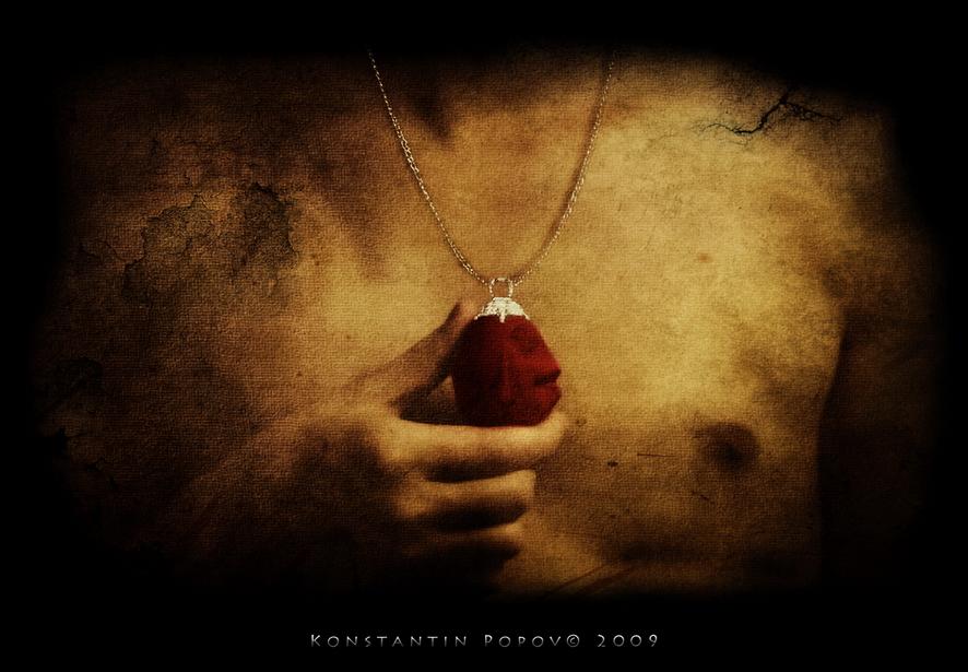 Crimson Behelit By Konstantin P