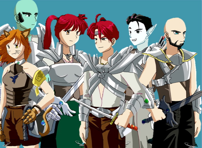 Anime Characters Creator : Anime character creator by redwolfradolf on deviantart