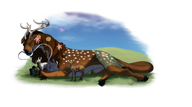Laying with the Deer | YSH