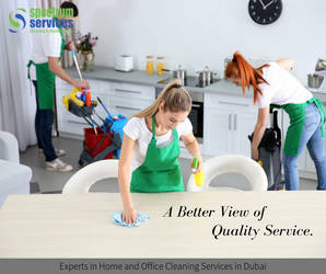Cleaning Services in Dubai by Spectrumservices