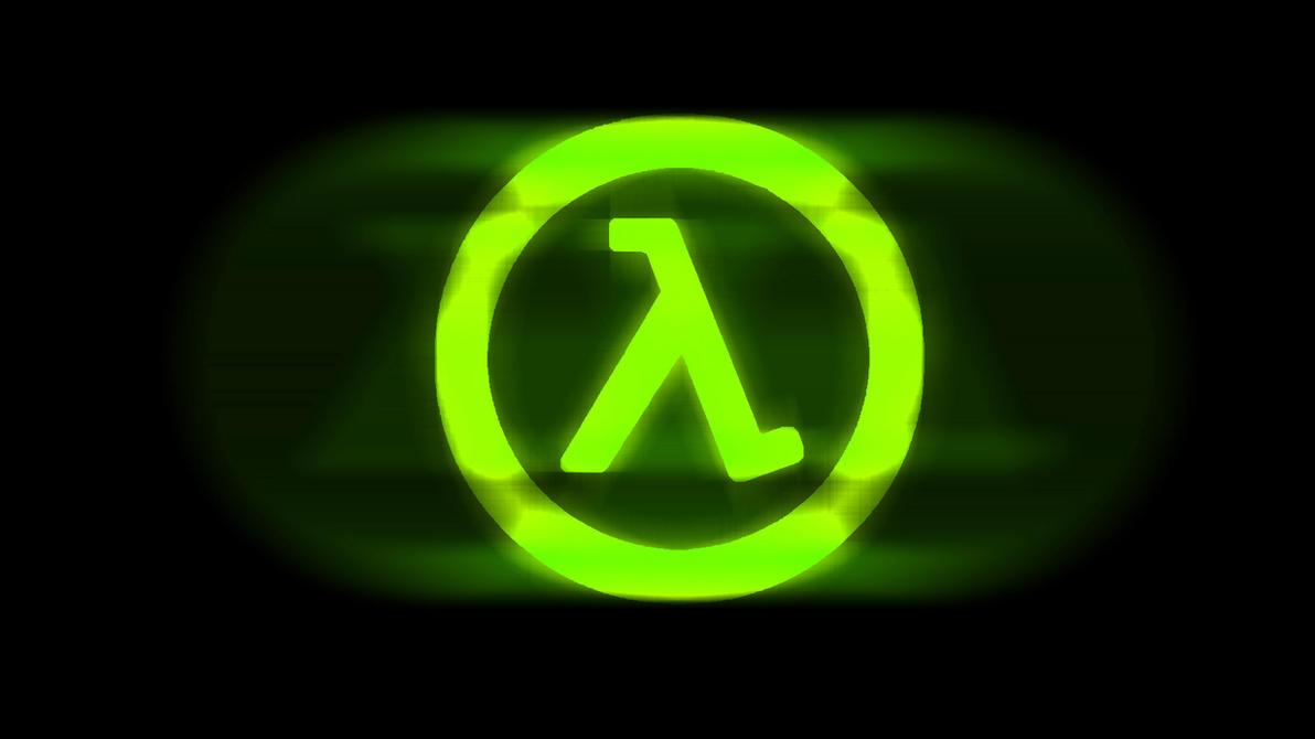 half-life logo wallpaper greentoks1c on deviantart