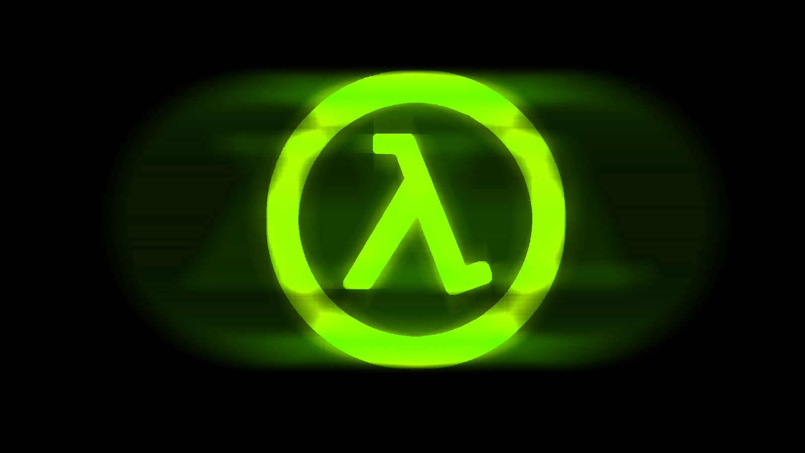 Half Life Logo Wallpaper Green By Toks1c On Deviantart