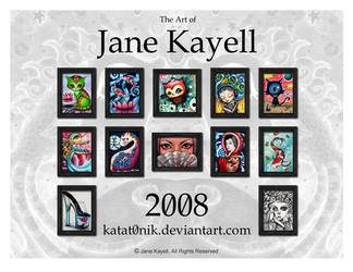 2008 Calendar by katat0nik