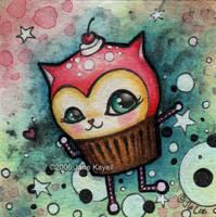 Space Cake - 2' x 2' by katat0nik