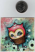 Space Cake - with coin by katat0nik