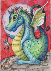Miss Dragon by katat0nik