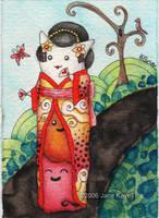 Mewberry Geisha by katat0nik