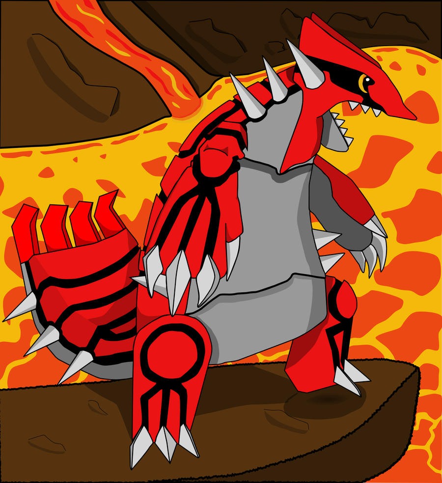 Groudon by TheSaure55