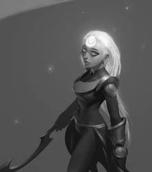 Young Diana by JiHunLee