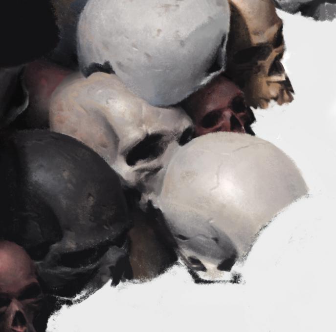 Skull by JiHunLee