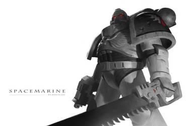 Space Marine by JiHunLee