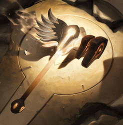 Artifact - Adoring Wingfall Hammer by JiHunLee