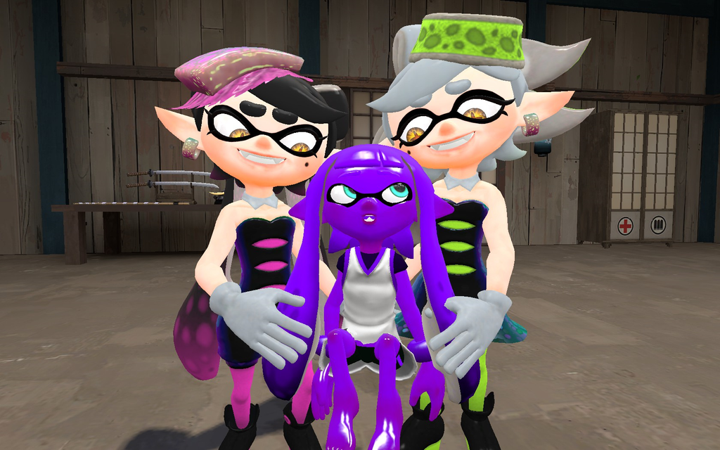 Callie And Marie With Baby Craemor By 123emilymason On