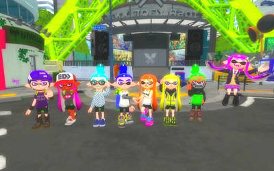5 colourful years of Splatoon!