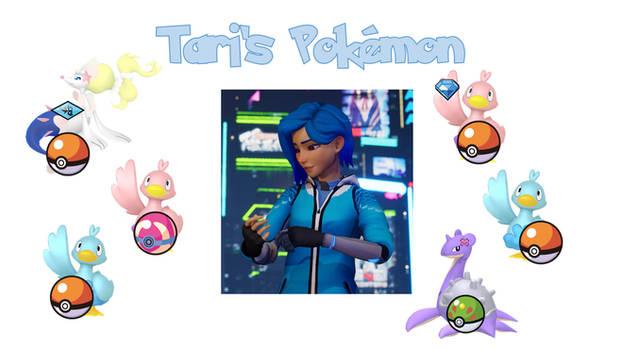 MRP - Tari's Pokemon