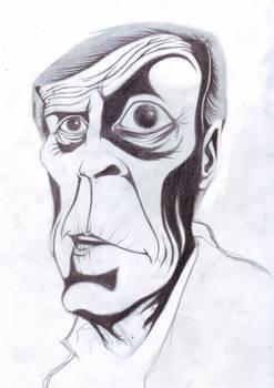 Maestro Tabarez - boceto