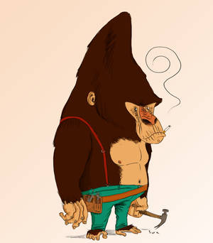 Mono carpintero
